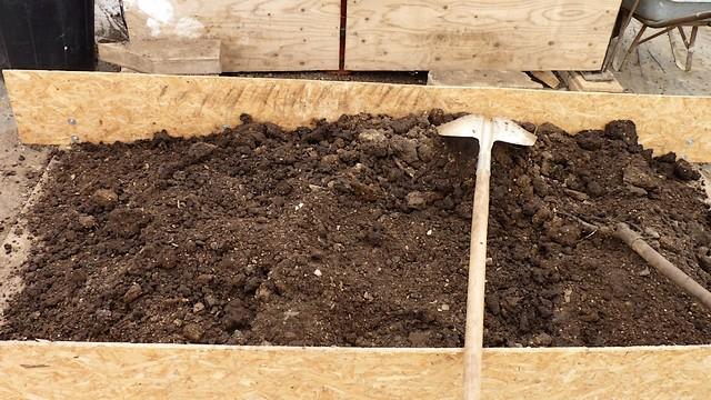 Compost tamisé